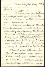 Letter from Joseph Henry to George Marsh
