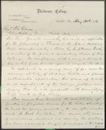 Letter from Charles Himes to Daniel Gilman