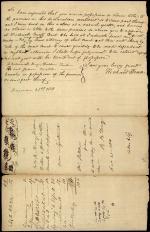 Legal Document, Edward Thomas v. William King
