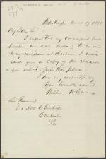 Letter from William Seward to John McClintock