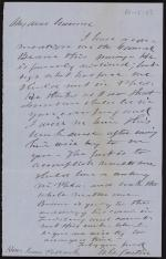Letter from Andrew Curtin to James Pollock