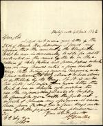 Letter from Andrew Gregg Curtin to C. E. Lex