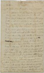 Letter from Stephen Johnes to Lydia Johnes