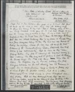 Letter from Whitfield Bell Jr. to Mr. & Mrs. J. Wesley Potter