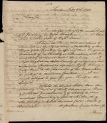 Letter from William Bingham to Benjamin Rush