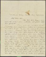 Letter from Charles Cleveland to Alexander Nisbet