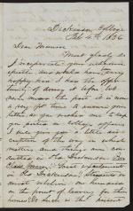 Letter from Albert Slape to James Munroe
