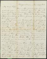 Letters from Charles Collins to Harriet Collins (Mar. 1853)