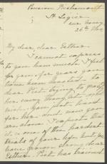 Letter from Constance Wachtmeister to Esther Windust