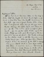 Letter from Laura Windust to Esther Windust
