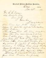 Letter from S. J. Miles to Cornelius Agnew