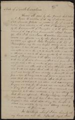 Letter of Attorney from James Hamilton to John Vaughan