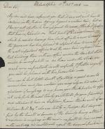 Letter from William Irvine to Henry Dearborn
