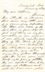 Letter from G. G. Beckwith to D. H. Hastings