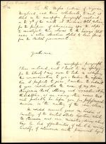 Letter from Richard Rush to the Corbin Family