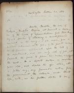 Letter from Richard Rush to William Jones