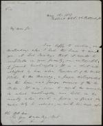 Letter from Richard Rush to Gore Ouseley