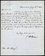 Letter from William Wilkins to William Marcy