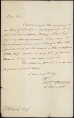 Letter from Horace Binney to William Rawle