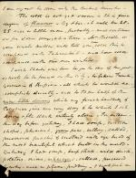 Letter from William Wilkins to Maria Wilkins