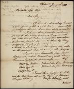 Letter from William Bingham to Nicholas Low