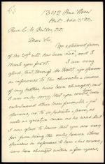 Letter from Edward Buchanan to Clement Butler
