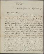 Letter from James Buchanan to W. C. N. Swift