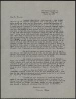 Letter from Marianne Moore to James Watson