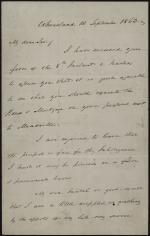 Letter from James Buchanan to Joseph C. G. Kennedy