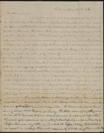 Letter from a Dickinson Student to Sarah A. Currier