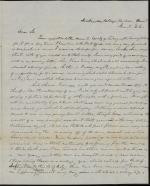 Letter from a Dickinson Student to Joseph T. Soule