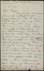 Letter from Harriet Beecher Stowe to Horatio Collins King