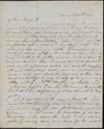 Letter from John Zug to Margaret Hood