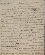 Letter from Benjamin Rush to John Rush