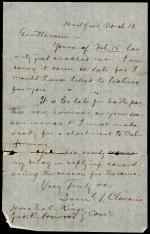 Letter from Samuel Clemens to Horatio Collins King and John Howard