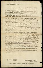 Legal Document, Abraham Jones v. Benjamin Howard