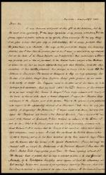 Letter from Charles Nisbet to William Young