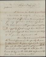 Letter from John Montgomery to Robert Miller, Samuel Laird, and John Agnew
