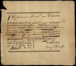 Sworn Affidavit of Benjamin Rush about a Soldier's Pay Certificate