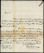 Letter from John Dickinson to Robert Magaw