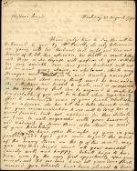 Letter from Sarah Vaughan to Sarah Franklin Bache