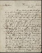 Letter from Beverly Waugh to J. B. Roberts