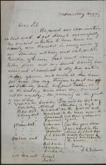 "Letter from John Gilmore to ""Lib"""