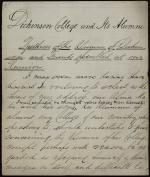 """Dickinson College and Its Alumni,"" by Anonymous"