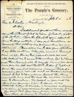 Letter from C.C. McLean to Andrew Curtin