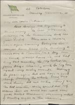 Letter from Leonard Blakey to Jane Perkins