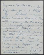 Letter from Jane Perkins to Leonard Blakey