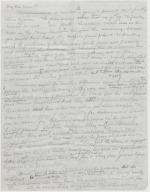 Letter from Leonard Blakey to Jane Perkins (Draft)