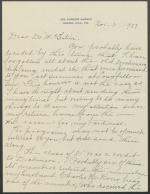 Letter from Carrie Cobb to Bradford McIntire