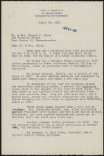 Letter from Zatae Longsdorff Straw to Mr. and Mrs. Howard Selby